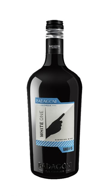 Вино Badagoni GAU#5 White One белое сухое 0.75л