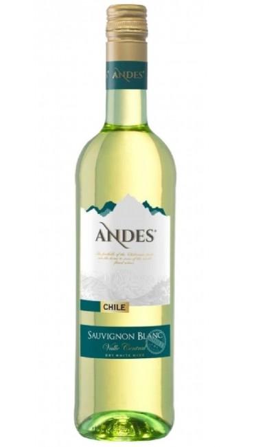 Вино Andes Sauvignon Blanc белое сухое 0,75л 12,5%