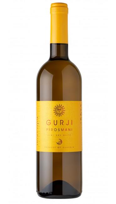 Вино Gurji Пиросмани белое полусухое 0,75 л